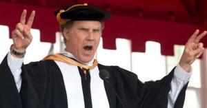 Will Ferrell leverer ultrastærk afgangstale og runder af med dybfølt Whitney Houston-sang
