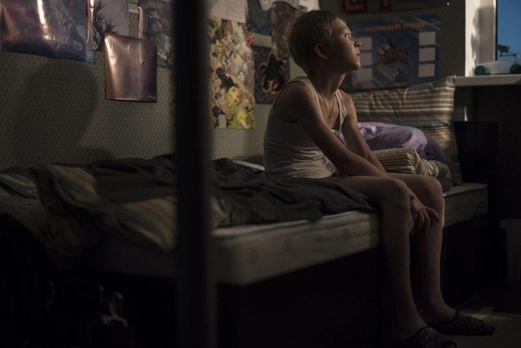 Drengen, der forsvinder i russiske Andrej Zvyagintsevs 'Loveless'.