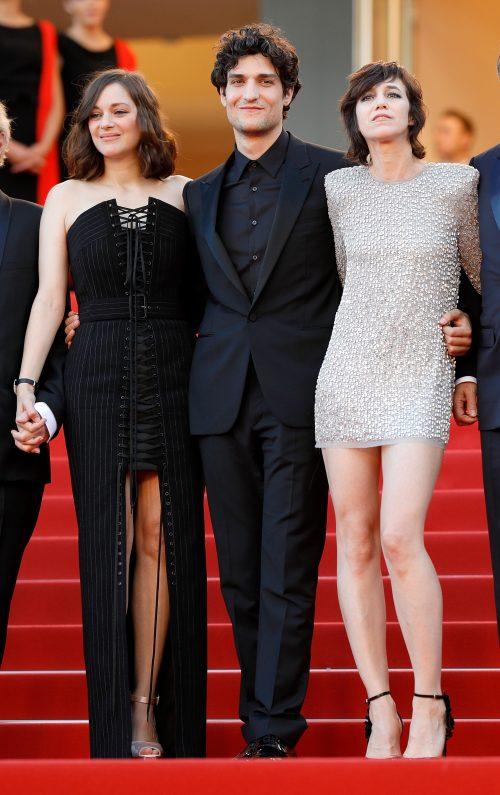 Marion Cotillard, Louis Garrel og Charlotte Gainsbourg