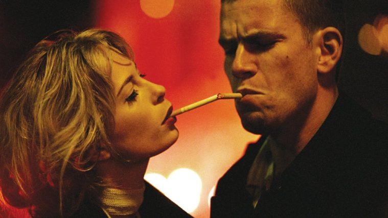 Nikolaj Lie Kaas og Maria Bonnevie i Christoffer Boes debutfilm 'Reconstruction' fra 2003