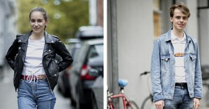 Street style: Acne Archive-lagersalg i Elmegade