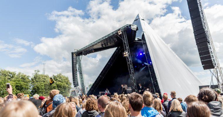 Roskilde Festival flytter Rising-scenen – se det nye kort