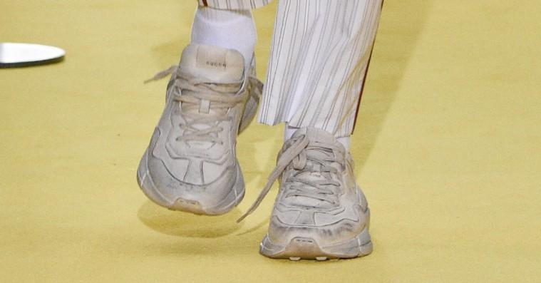 Gucci laver beskidte sneakers – til flere tusind kroner, selvfølgelig
