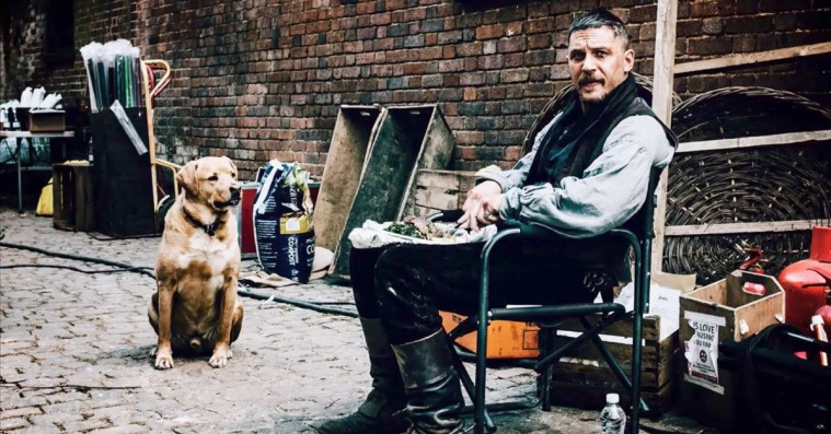 Tom Hardy skriver hjerteskærende afskedbrev til sin hund Woody