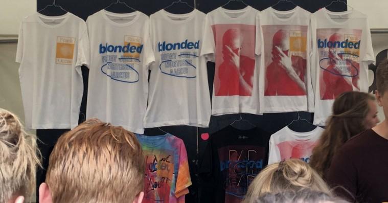Du kunne costumize dit Frank Ocean-merchandise på NorthSide