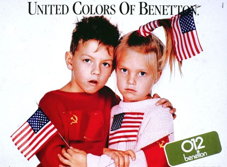 Har vi l rt noget siden united colors of benetton for Benetton usa online shop