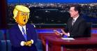 Stephen Colbert skal producere animeret komedieserie om Donald Trump