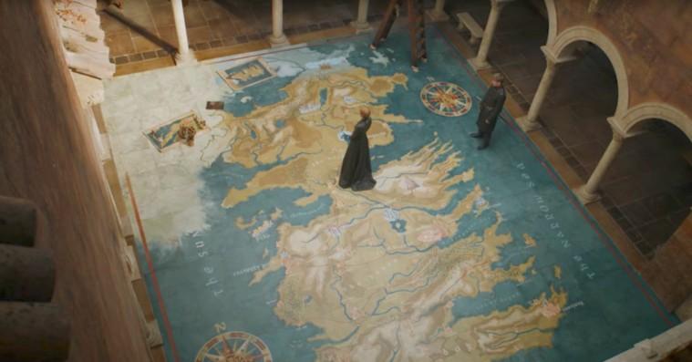 Sådan ligger landet: Hvor alle karaktererne i 'Game of Thrones' er – og hvor de er på vej hen