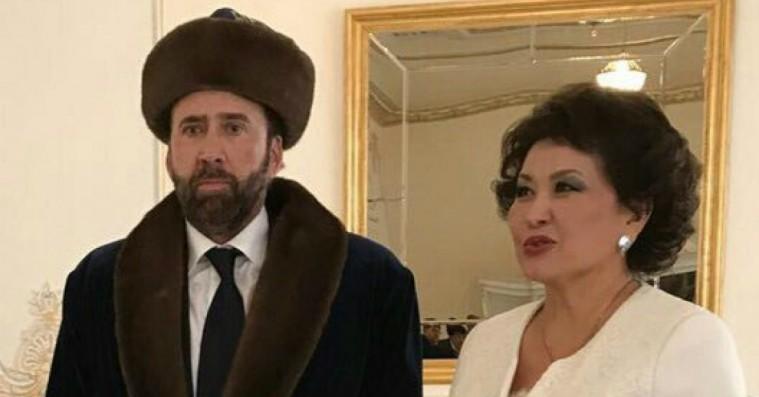 Nicolas Cages akavede Kazakhstan-visit bliver straks nyt meme-foder