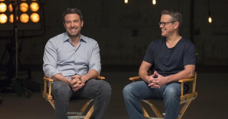 Ben Affleck og Matt Damon på vej med ny dramaserie