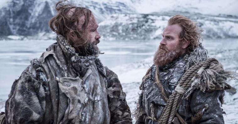 Internet-guld: The Hound synger for Tormund på settet til 'Game of Thrones'