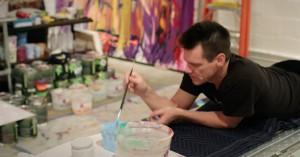 Mini-dokumentar undersøger den anden side af Jim Carrey og hans passion for at male