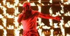 Kendrick Lamar indtog VMA's som Kung Fu Kenny – se ham spille 'DNA og' Humble'