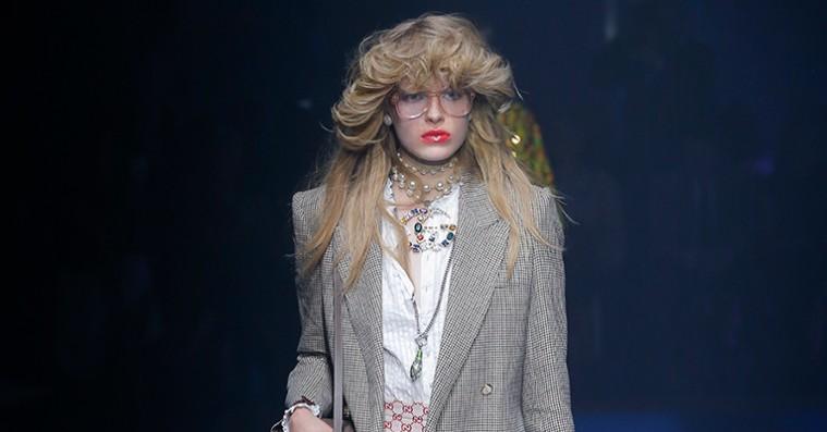 Gucci slår fast, at 80'erne er tilbage – hvis du var i tvivl