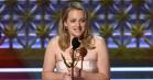 Elisabeth Moss bleepet ud i følelsesladet takketale under Emmy Awards
