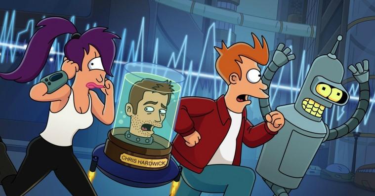 'Futurama' genopstår som radiodrama med det originale cast og dobbelt længde
