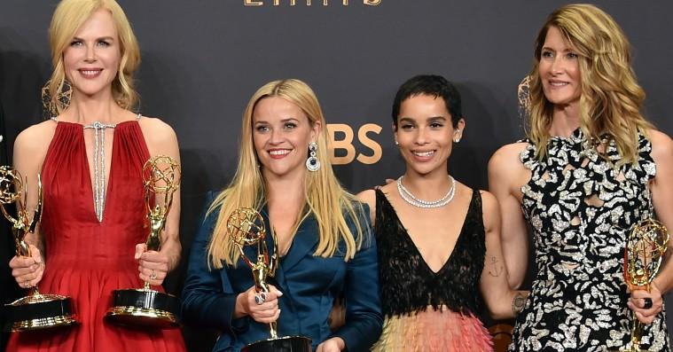 Nicole Kidman og Reese Witherspoon i Emmy-brandtale: »Flere stærke roller til kvinder, tak!«