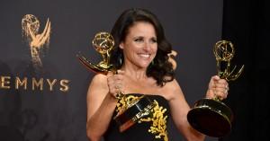 Julia Louis-Dreyfus' kræftdiagnose udløser overvældende støtte fra 'Veep'-holdet, HBO og Joe Biden