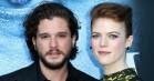 Kit Harington og 'Game of Thrones'-medstjernen Rose Leslie er blevet gift – se billederne