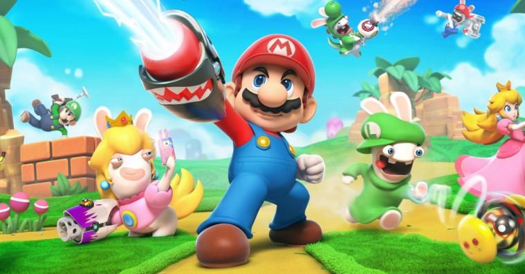 'Mario + Rabbids: Kingdom Battle' er en bizar, men velfungerende fusions-feberdrøm