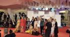 'Team Hurricane'-pigerne indtog Venedig med stil – farverige og provokerende