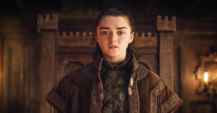 Maisie Williams røber detalje om sin slutscene af 'Game of Thrones', og spekulationerne kan begynde