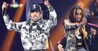 Chance the Rapper er i studiet med Lil Yachty og Migos-medlemmet Quavo - hvad mon de tre brygger på?