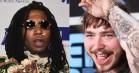 Post Malone og Lil B mundhugges på Twitter over 'Rockstar'-stjernens oprigtighed