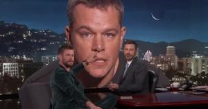 Matt Damon avancerer sin Jimmy Kimmel-trolling og inddrager Chris Hemsworth