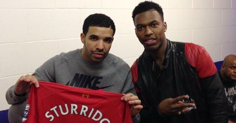 Fodboldstjernen Daniel Sturridge er venner med Drake – nu starter han sit eget pladeselskab