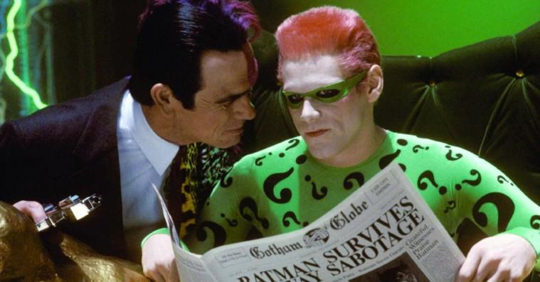 Tommy Lee Jones hadede Jim Carrey under optagelserne på 'Batman Forever'