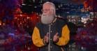 Dave Grohl overtog Kimmels Halloween-monolog klædt ud som Letterman