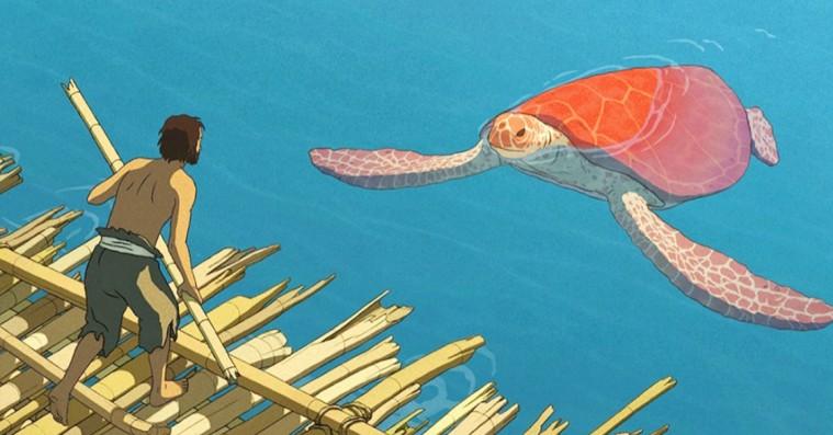 'Den røde skildpadde': Oscar-nomineret Ghibli-film er smuk og medrivende
