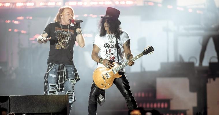 Guns N' Roses kommer tilbage til Danmark