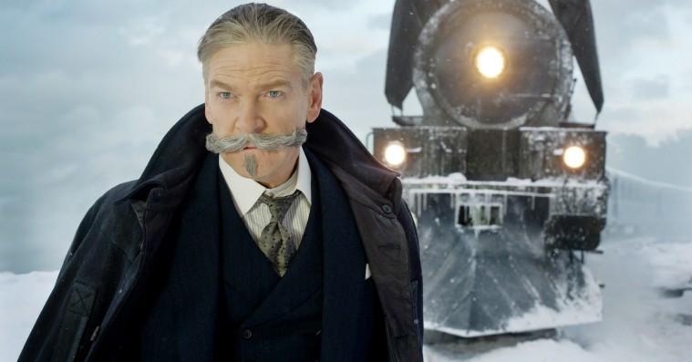 'Mordet i Orientekspressen': Mesterdetektivs overskæg er forrykt i knapt seværdig Agatha Christie-film