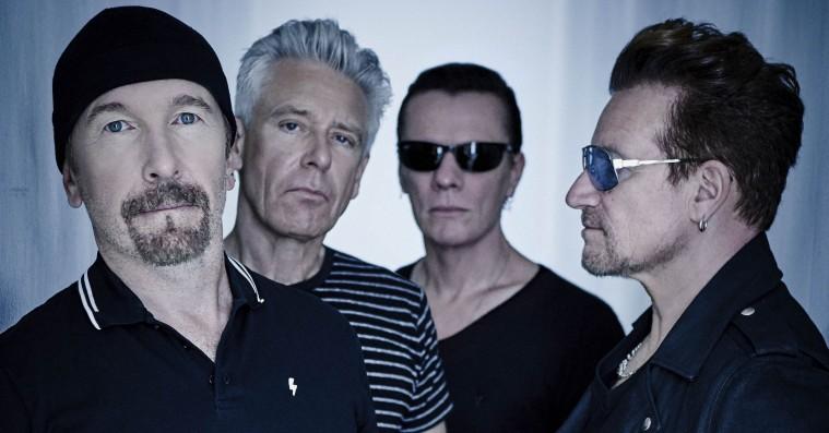 U2 giver koncert i Danmark
