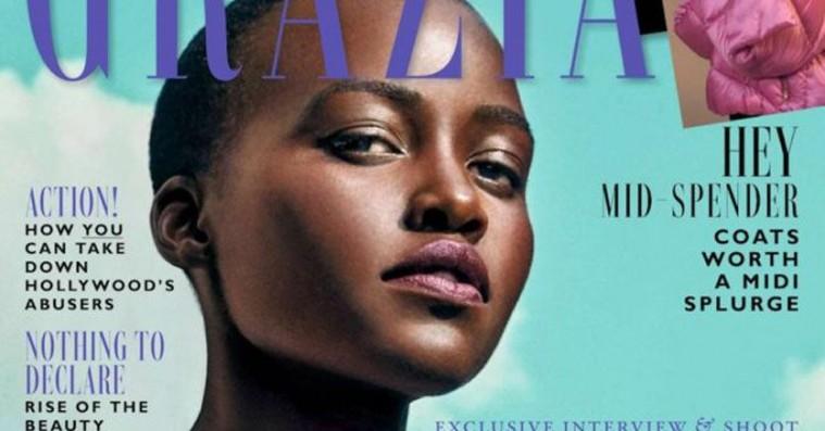 Lupita Nyong'o udstiller retouchering – magasin fjerner hendes hår