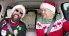 Carpool Karaoke: Årets gæster synger 'Santa Claus Is Coming To Town'