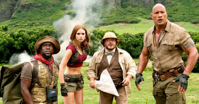 'Jumanji: Welcome to the Jungle': Jack Black skraber bunden med pikjokes til overflod