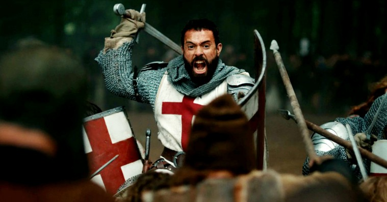 'Knightfall': Ny stor actionserie a la 'Vikings' på HBO Nordic er firkantet og forudsigelig