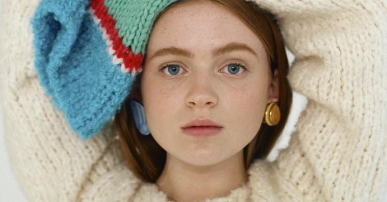 Sadie Sink er den seneste 'Stranger Things'-stjerne til at få en modekampagne