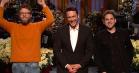 James Franco får sin 'SNL'-åbningsmonolog spoleret af Seth Rogen og Jonah Hill