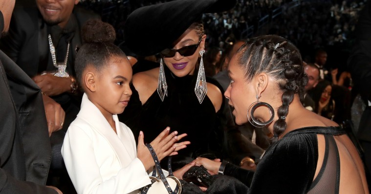 Årets Grammy-meme: Blue Ivy beder Beyoncé og Jay-Z om at slappe lidt af