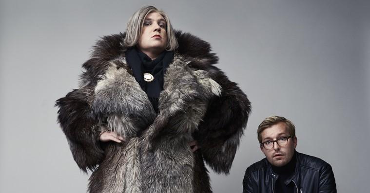'Det Skide Show': Kirsten Birgit og Rasmus Bruuns live-show er strømførende og meget meta