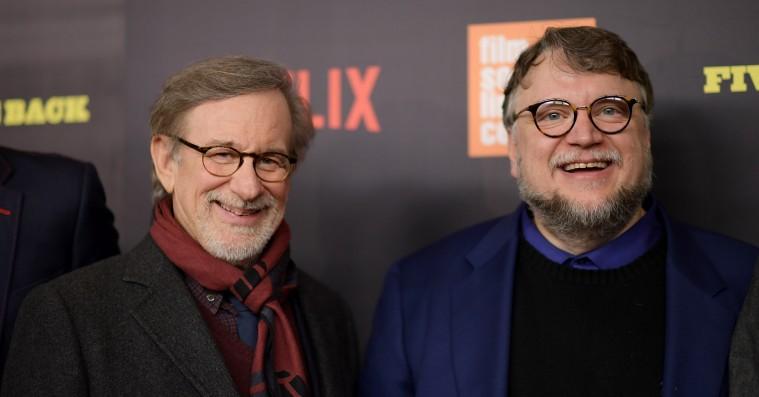 Spielberg og Guillermo del Toro reagerer på Natalie Portmans Golden Globes-bemærkning