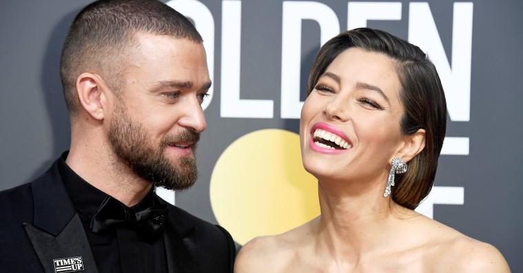 Justin Timberlake scorede pluspoint på kvindernes aften ved Golden Globes
