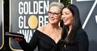 Meryl Streeps stjernespækkede Golden Globe-aften blev forstyrret af Mariah Carey