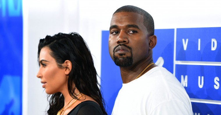 Kanye West og Kim Kardashian kom for sent til Chance the Rappers bryllup