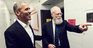 Barack Obamas far-dansetrin stjæler fokus i David Lettermans nye Netflix-talkshow