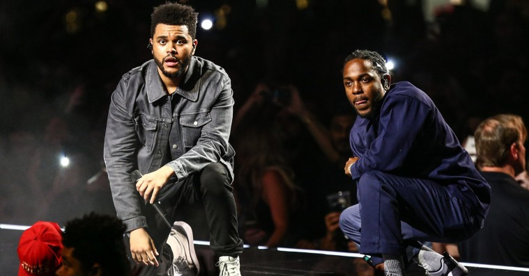 Hør Kendrick Lamar og The Weeknd slå sig sammen på 'Pray for Me' – fra 'Black Panther'-soundtracket